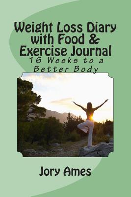 Weight Loss Diary With Food & Exercise Journal