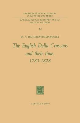 The English Della Cruscans and Their Time, 1783-1828