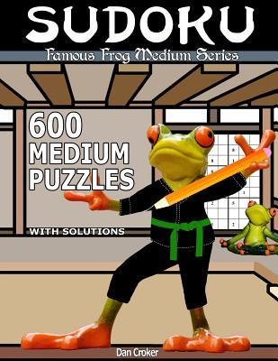 Famous Frog Sudoku 600 Medium Puzzles With Solutions