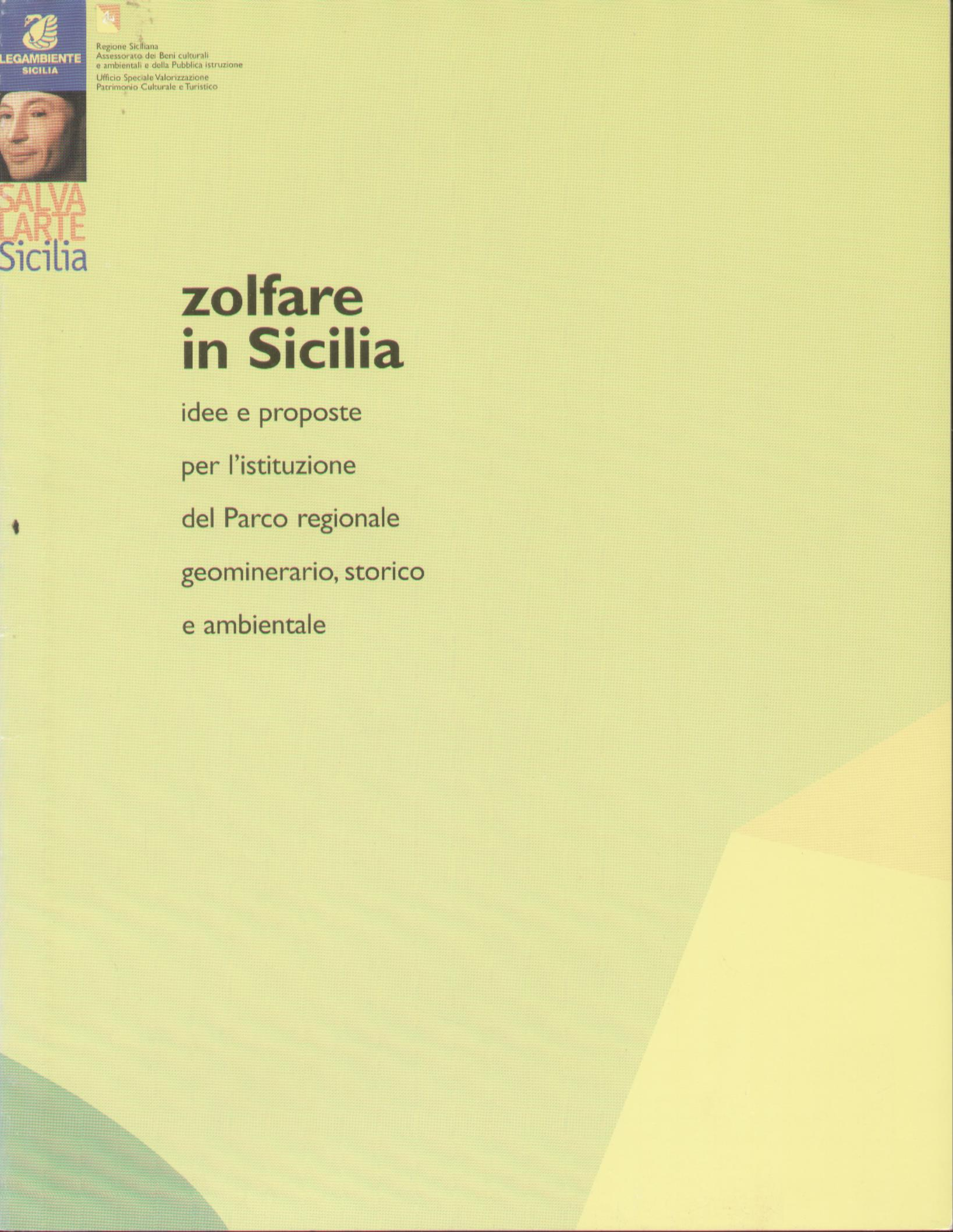 Zolfare in Sicilia