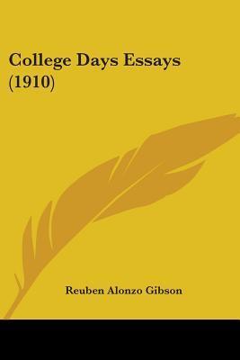 College Days Essays (1910)
