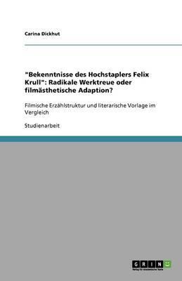 """""""Bekenntnisse des Hochstaplers Felix Krull"""""""