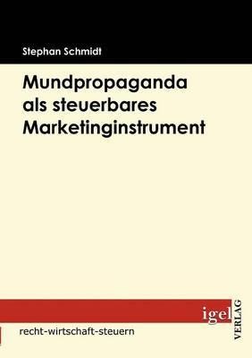 Mundpropaganda Als Steuerbares Marketinginstrument