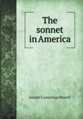 The Sonnet in America