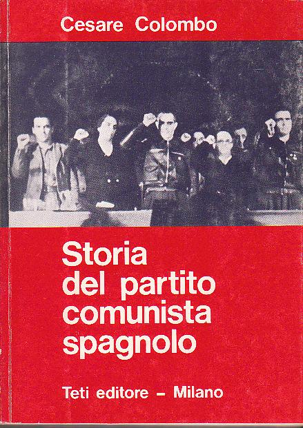 Storia del Partito Comunista Spagnolo