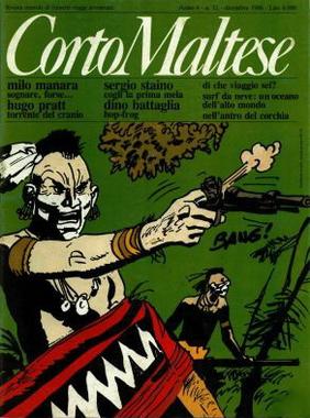 Corto Maltese, Anno IV, n. 12 (dicembre 1986)