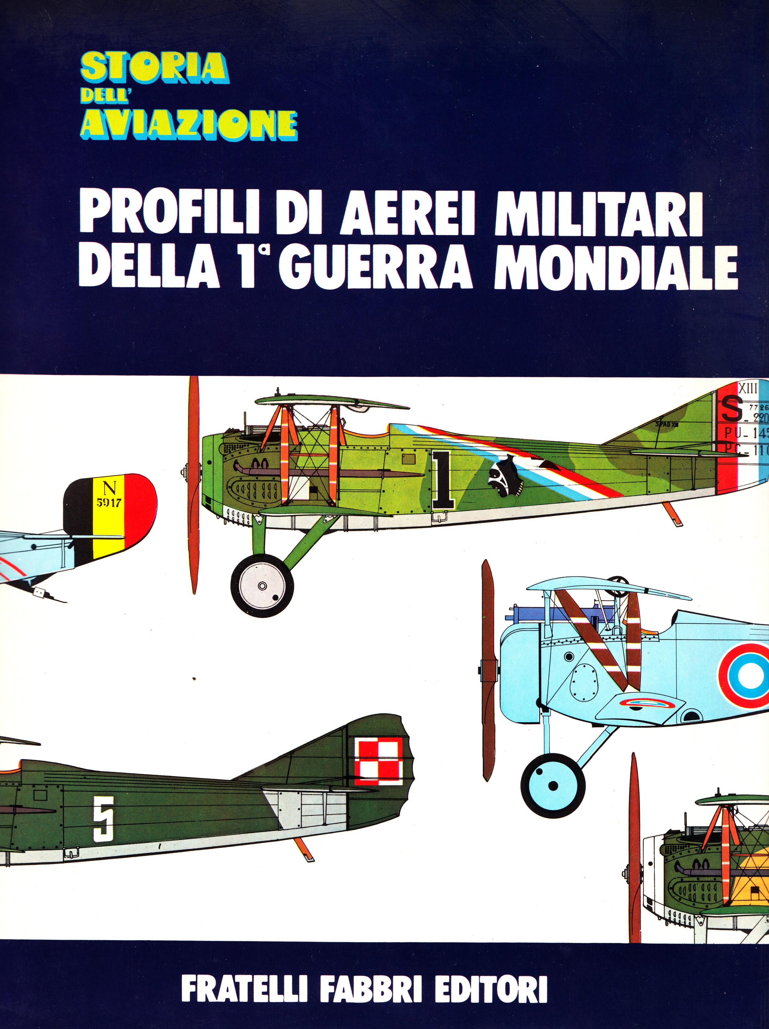 Profili di aerei militari della 1ª Guerra Mondiale