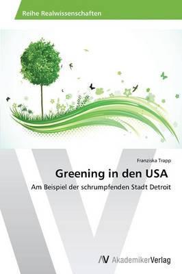 Greening in den USA