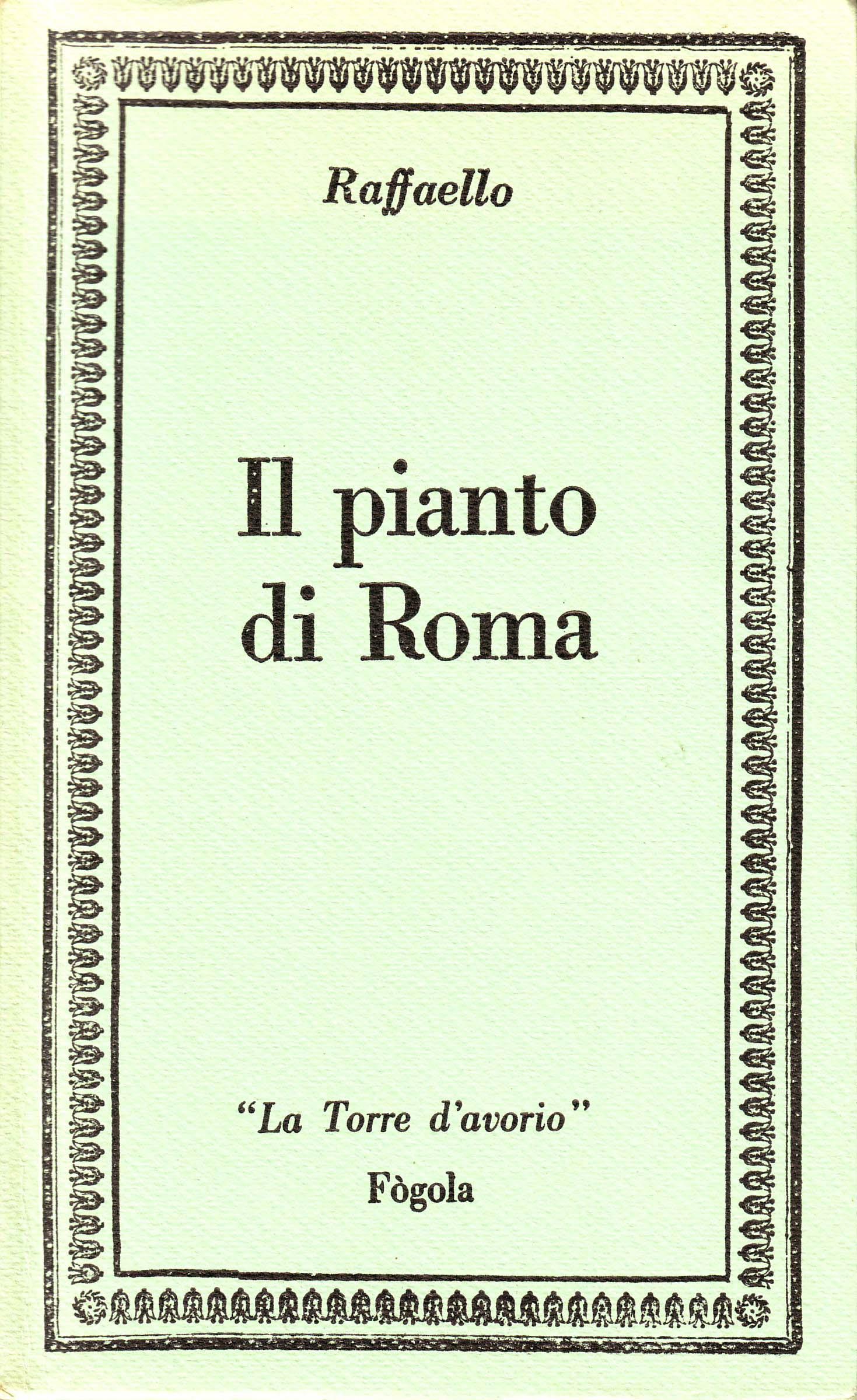 Il pianto di Roma