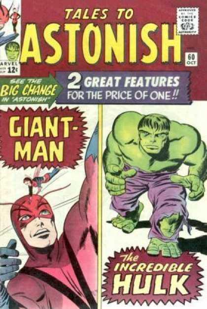 Tales to Astonish Vol.1 #60