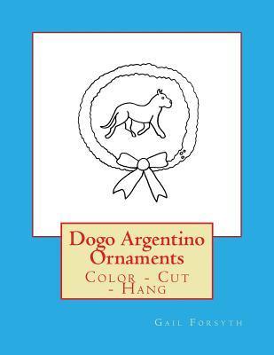 Dogo Argentino Ornam...