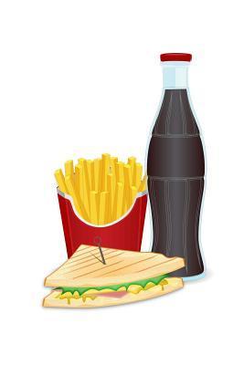 Fries, Soda & Sandwi...