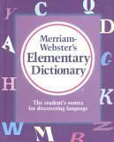Merriam Webster's Elementary Dictionary