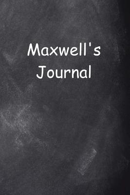 Maxwell Personalized Name Journal