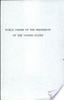 Public Papers of the Presidents of the United States, Richard Nixon, 1973