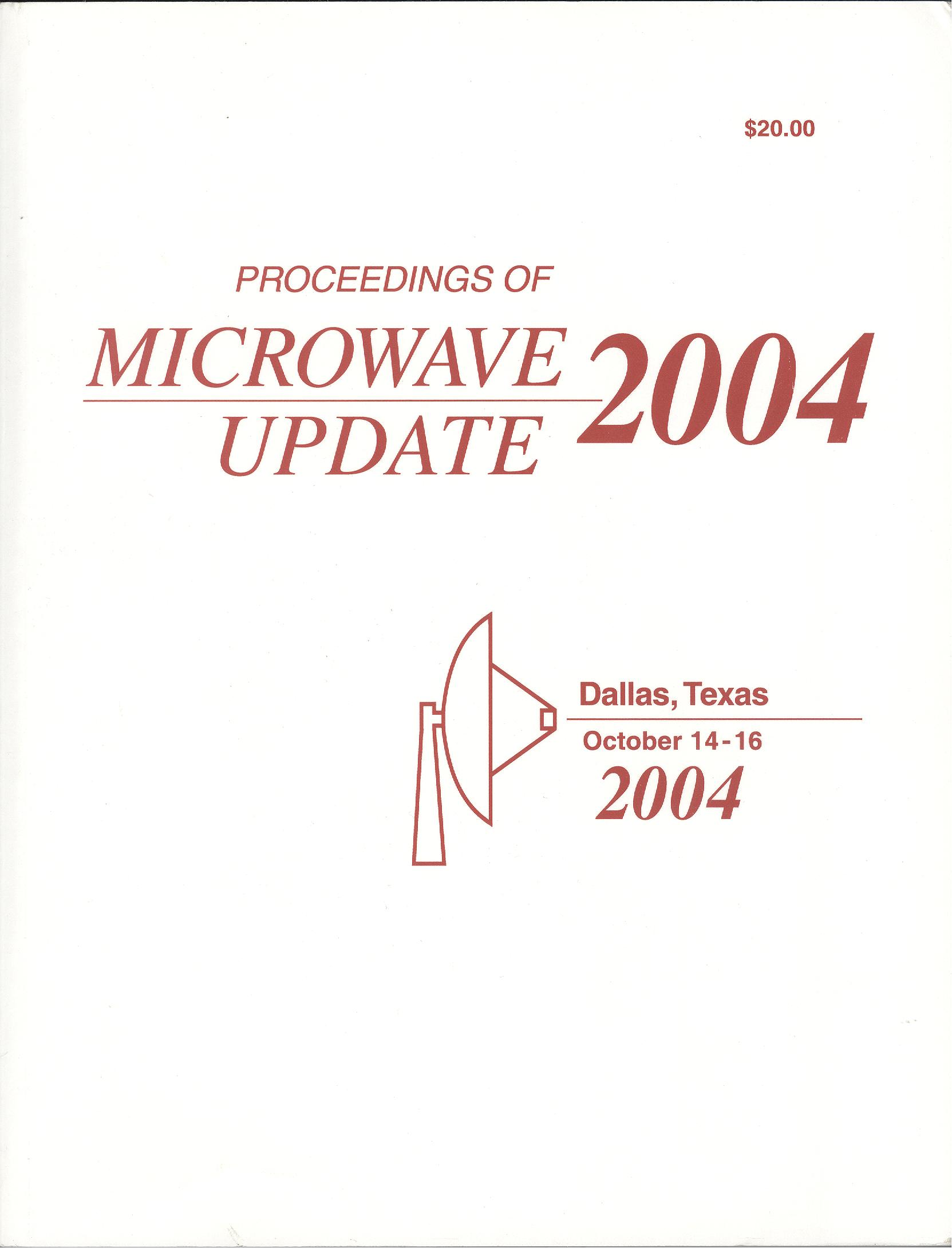 Proceedings of Microwave Update 2004