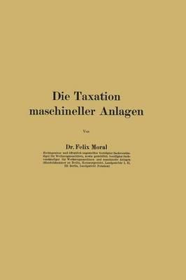 Die Taxation Maschin...