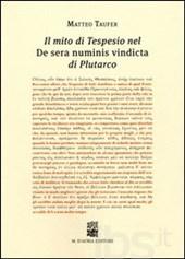 Il mito di Tespesio nel De Sera numinis vindicta di Plutarco