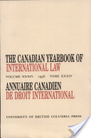 The Canadian Yearbook of International Law, Vol. 34, 1996
