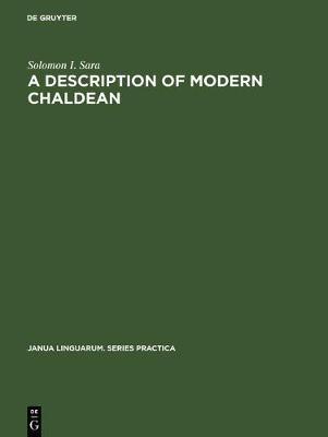 A Description of Modern Chaldean