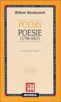 Poems - Poesie. 1798-1807