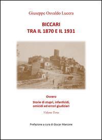 Biccari tra il 1870 ...