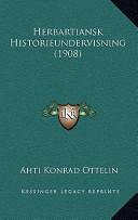 Herbartiansk Historieundervisning(1908)