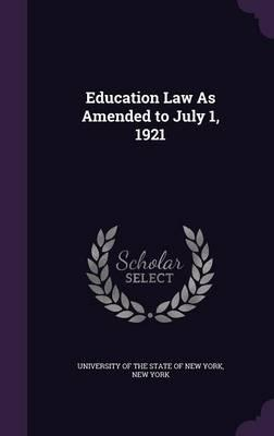 Education Law as Ame...