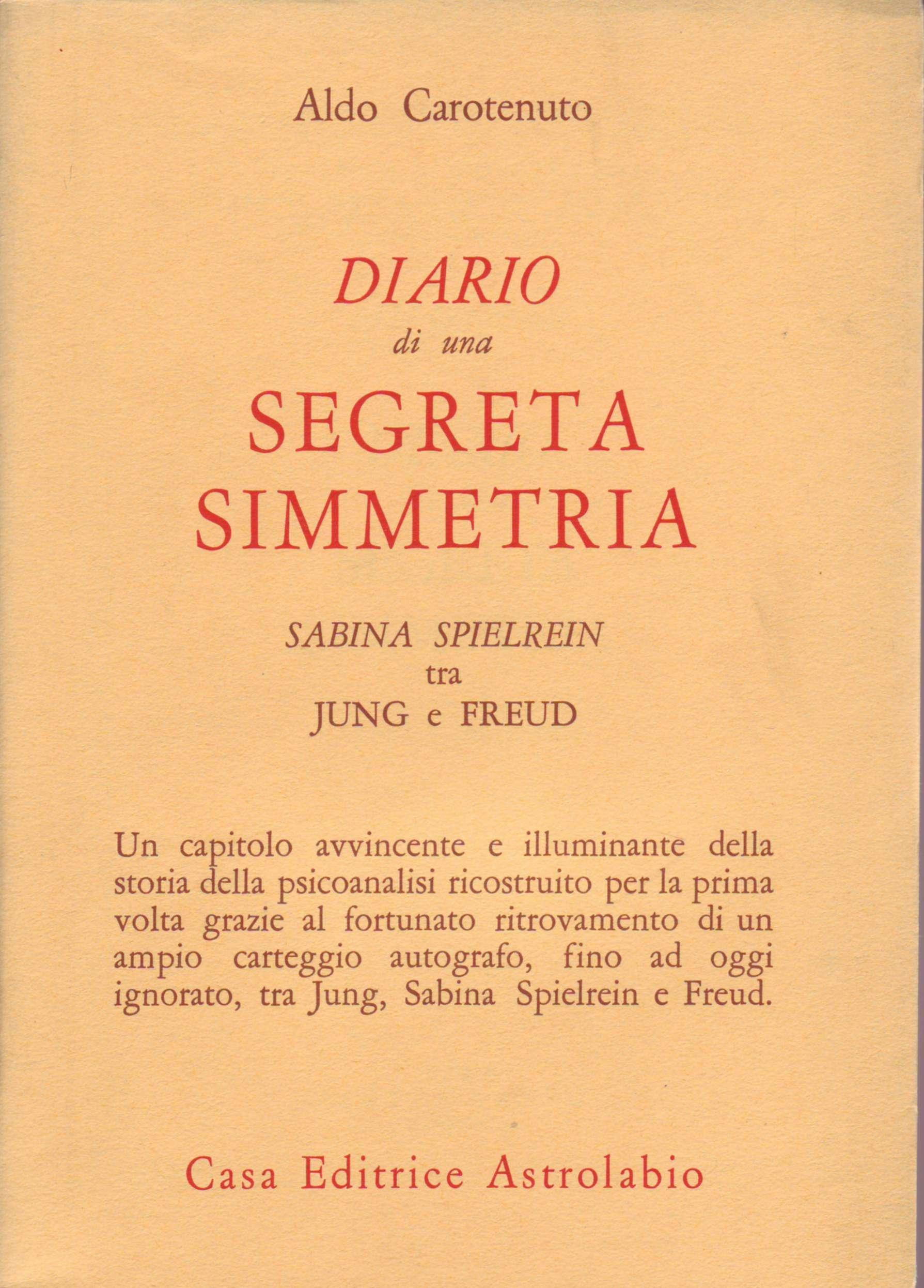 Diario di una segreta simmetria