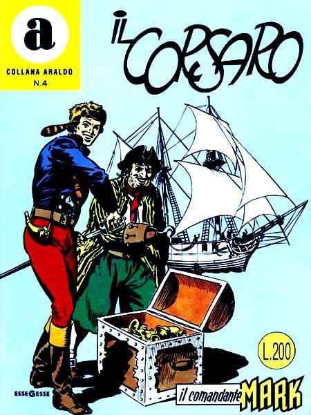 Il Comandante Mark - Collana Araldo n. 4