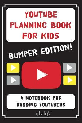Youtube Planning Book for Kids
