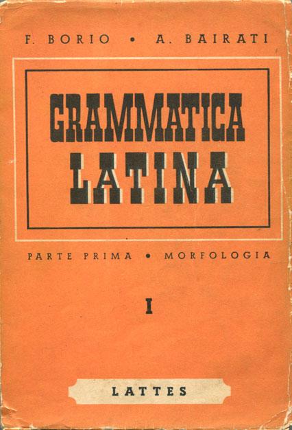 Grammatica latina per la scuola media