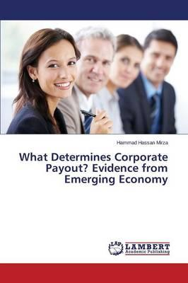 What Determines Corporate Payout? Evidence from Emerging Economy