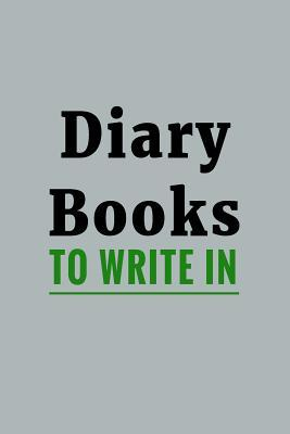 Diary Books to Write in
