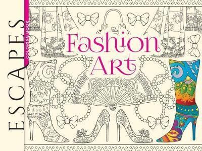 Fashion Art Coloring Book