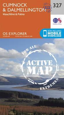 OS Explorer Map Active (327) Cumnock and Dalmellington