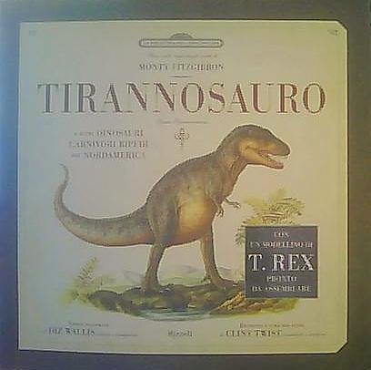 Tirannosauro Rex e altri temibili dinosauri carnivori bipedi del Nordamerica