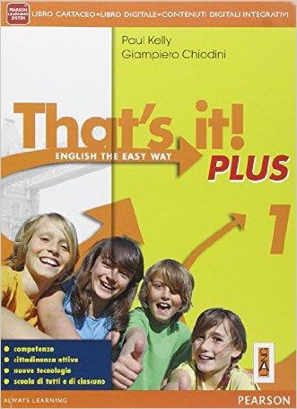 That's it! Plus. Con Civiltà. Per la Scuola media. Con e-book. Con espansione online