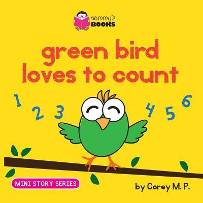 Green Bird Loves to Count