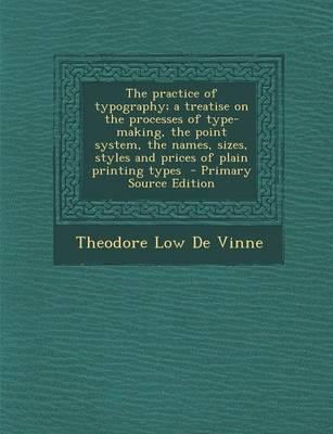 The Practice of Typo...