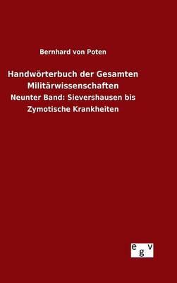 Handwörterbuch der Gesamten Militärwissenschaften