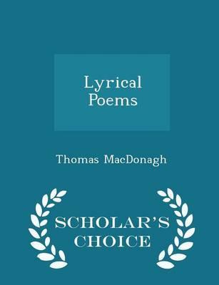 Lyrical Poems - Scho...