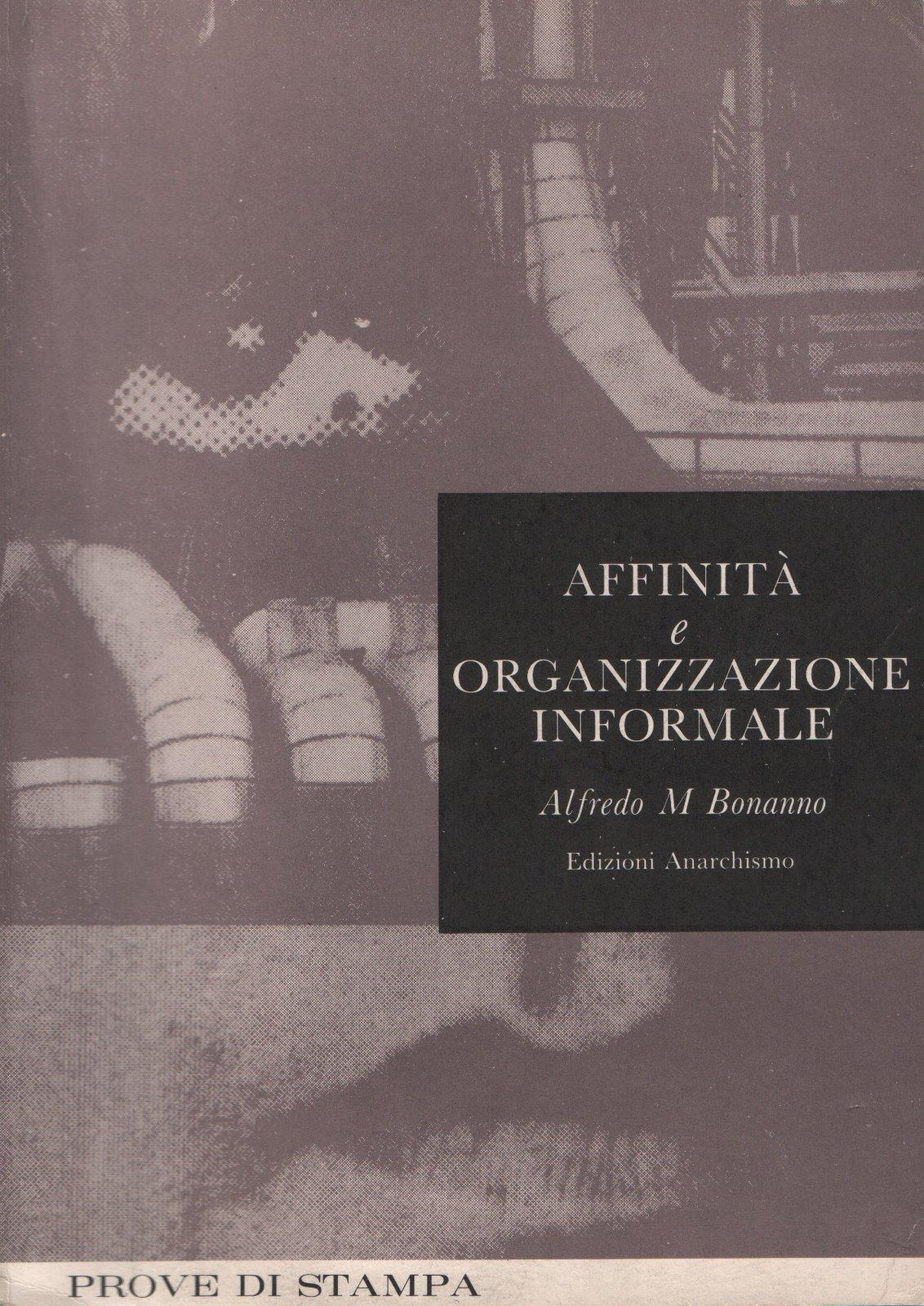 Affinità e organizzazione informale