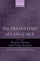 The Prehistory of Language
