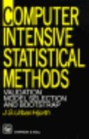 Computer Intensive Statistical Methods