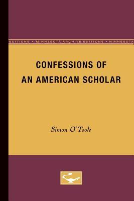 Confessions of an American Scholar
