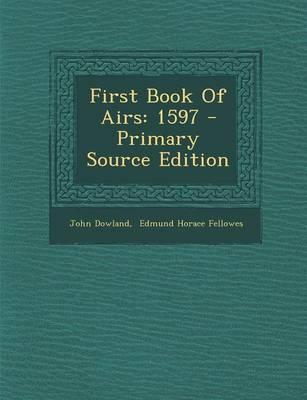 First Book of Airs