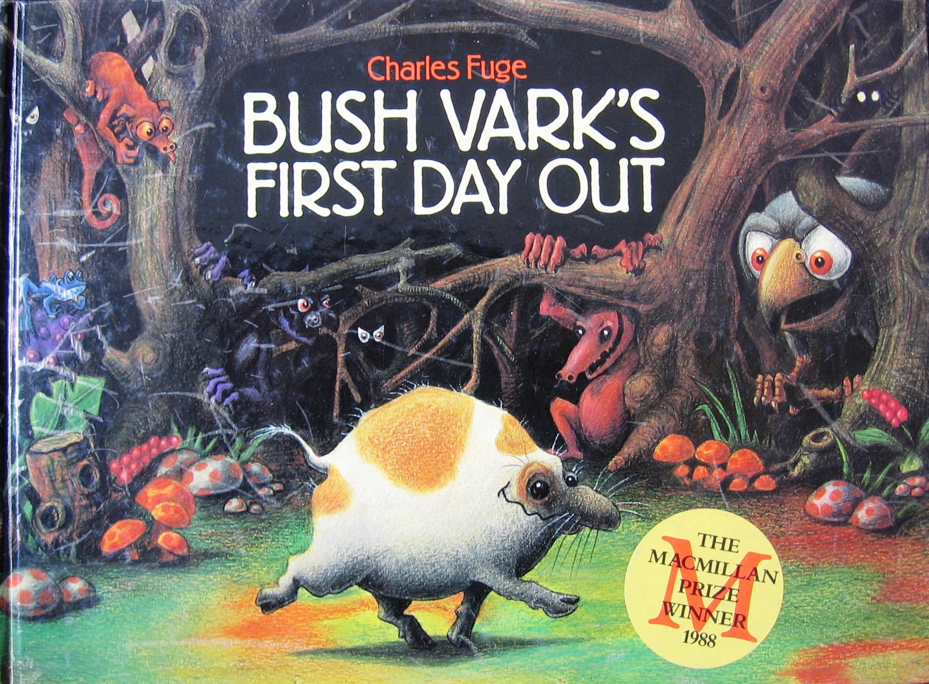 Bush Vark's First Day Out