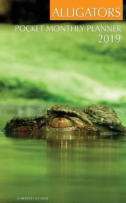 Alligators Pocket Monthly Planner 2019