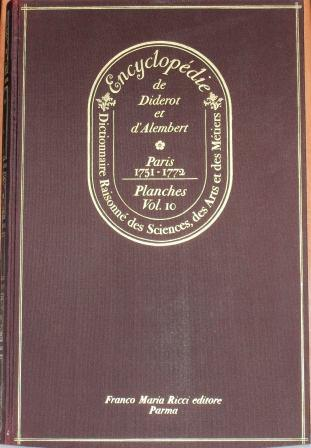 Encyclopédie, Tome X